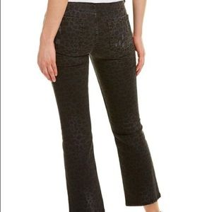 The Kooples Lexy Leopard Straight Leg Jeans 28